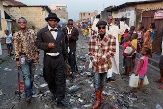 Des sapeurs de Brazzaville