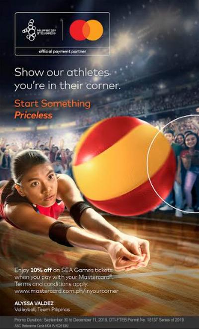 Mastercard SEA Games 2019 Promo Poster