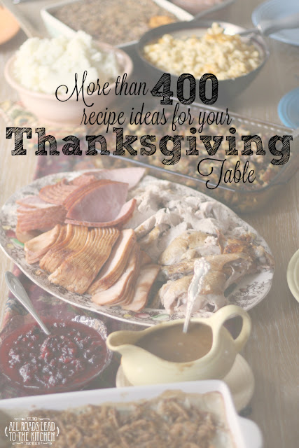 More than 400 Recipes Ideas for your Thanksgiving Table