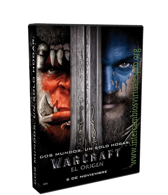 Warcraft El Primer Encuentro De Dos Mundos poster box cover