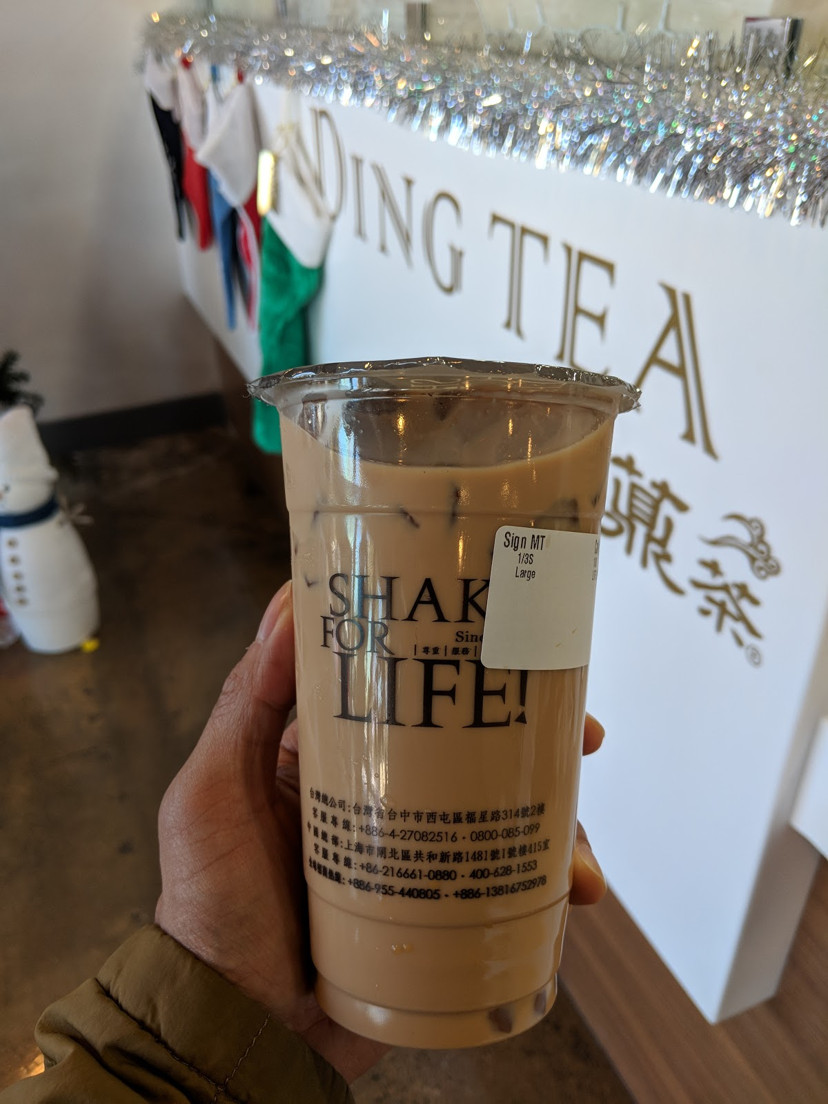 Ding Tea (Artesia, Los Angeles) | Just ME