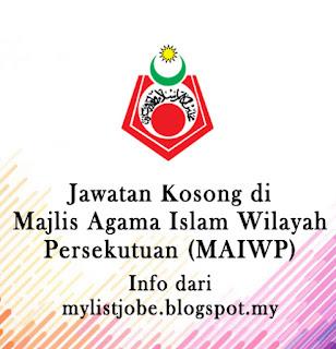Jawatan Kosong Terkini di Majlis Agama Islam Wilayah Persekutuan (MAIWP)