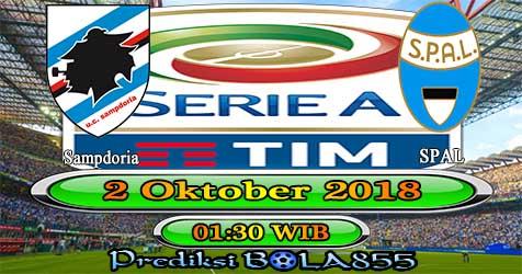 Prediksi Bola855 Sampdoria vs Spal 2 Oktober 2018