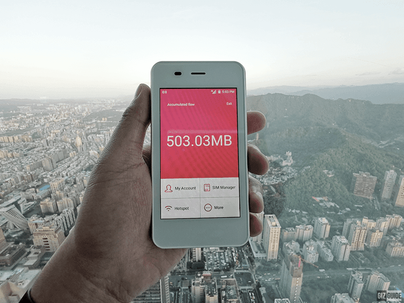 CherryRoam works even on top of Taipei 101