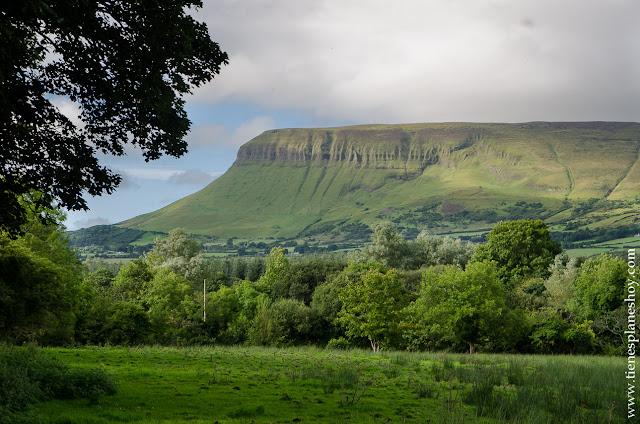 Montaña Benbulben Condado de Sligo Irlanda