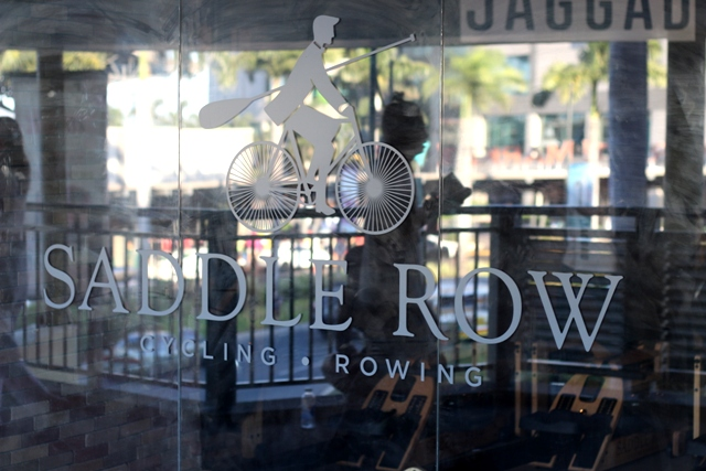 Row Row Row Indoors at Saddle Row PH