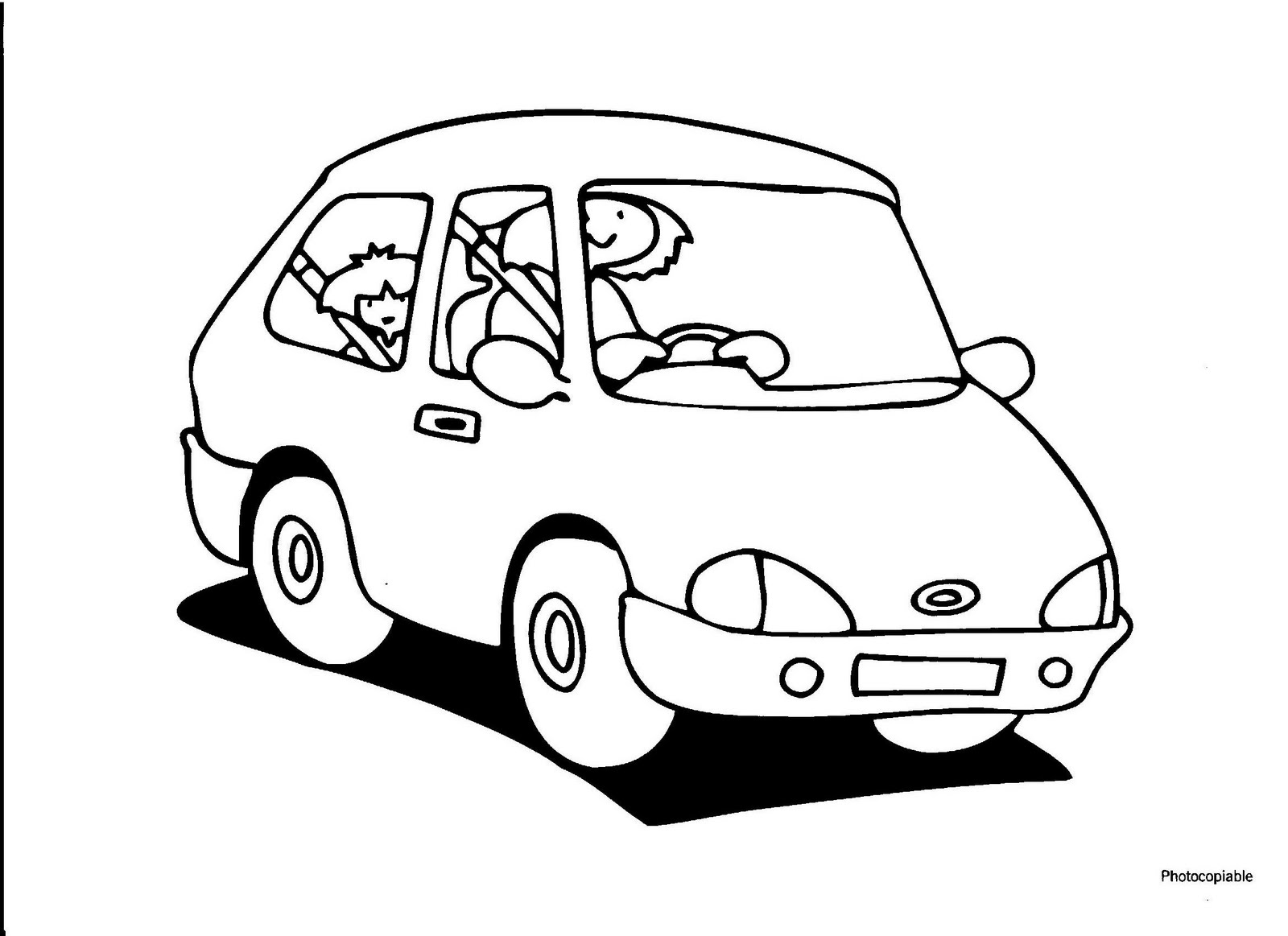 road safety images black and white