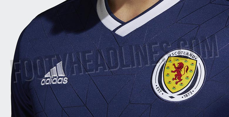 6b74e5294c1 The Scotland 2018 home kit was released today. It s made by Adidas and  follows the brand s retro trend.
