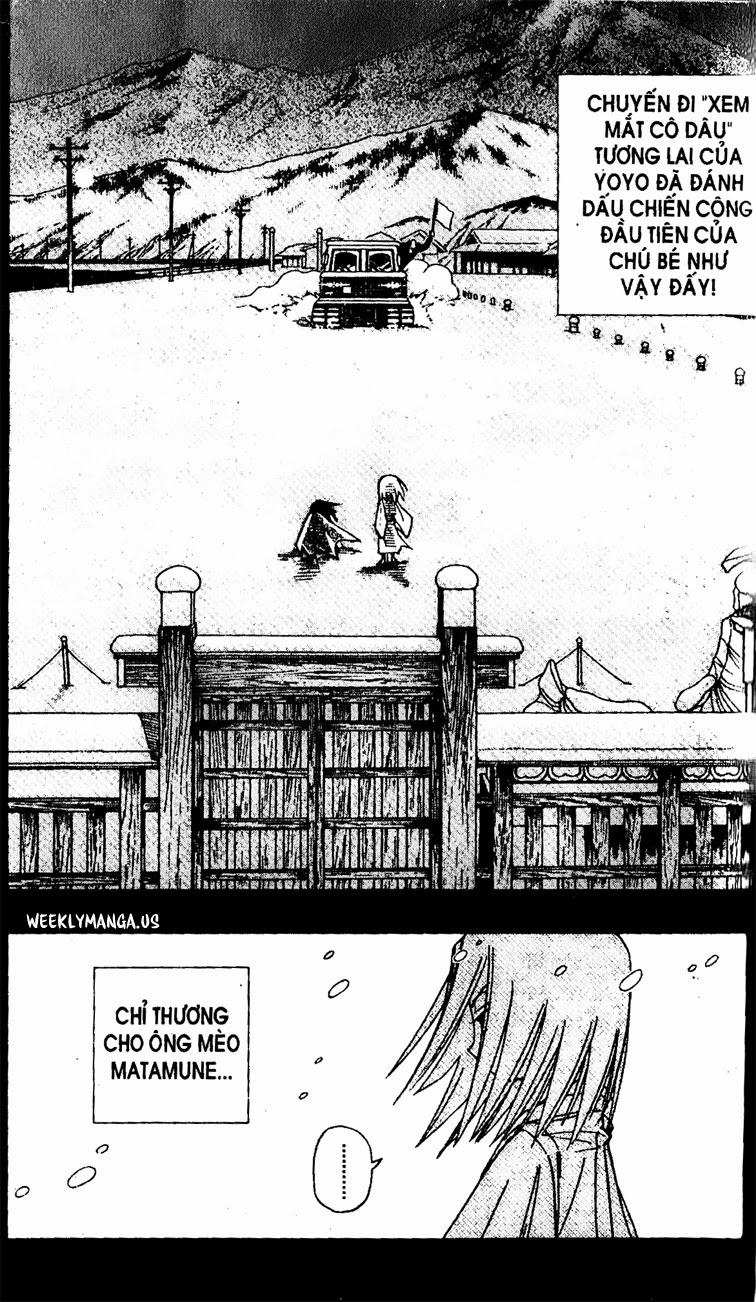 Shaman King [Vua pháp thuật] chap 177 trang 4