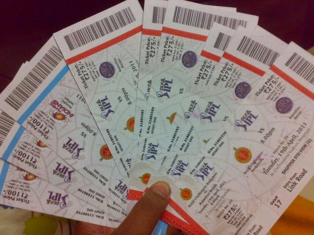 IPL 2018 Tickets