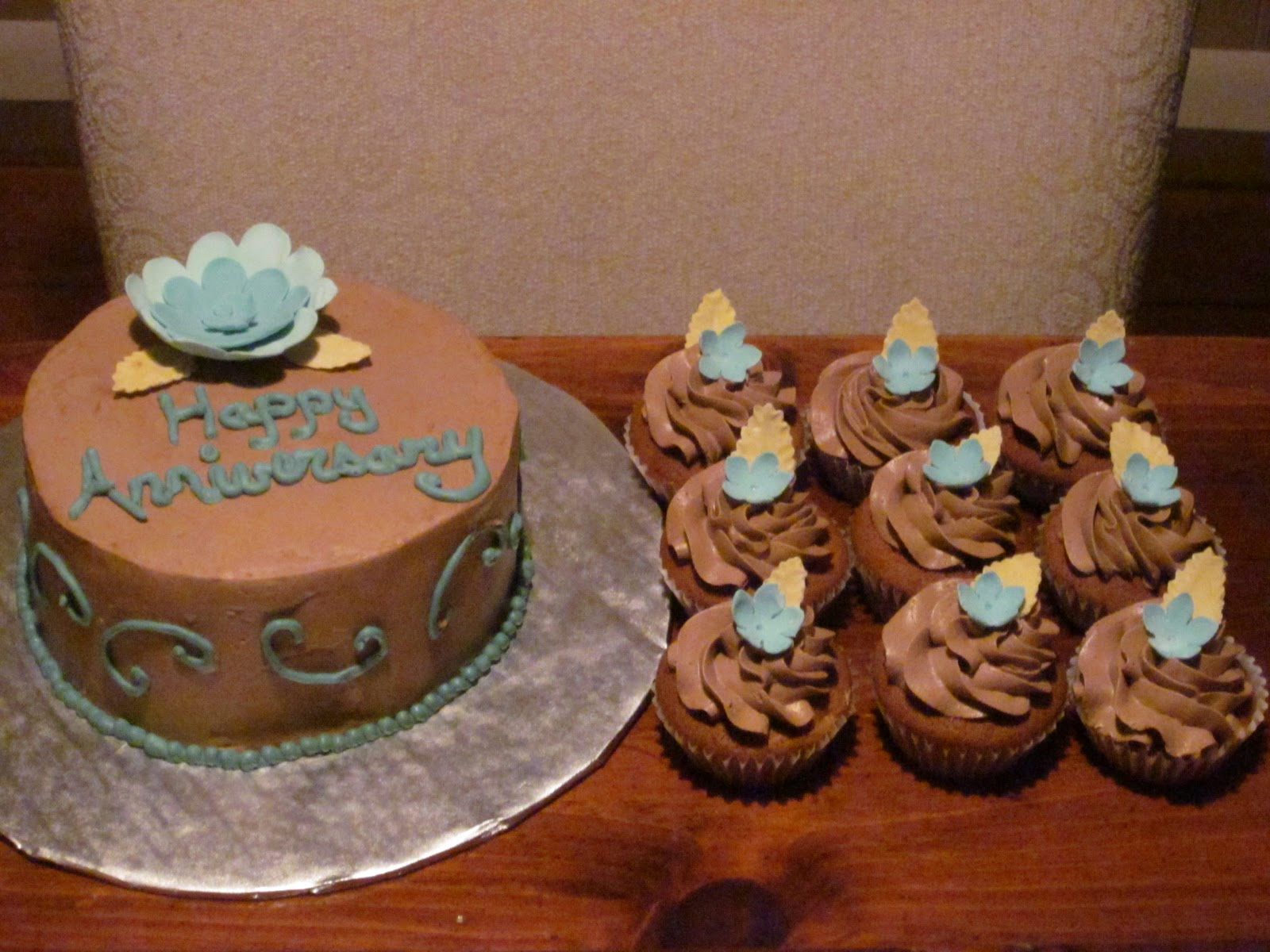 34th Wedding Anniversary Gifts: Second Generation Cake Design: Anniversary Cake