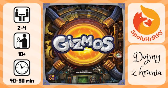 recenzia hry Gizmos na blogu www.spoluhratky.eu