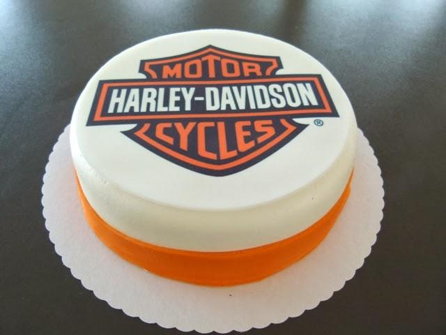Projekt Harley Davidson Torte
