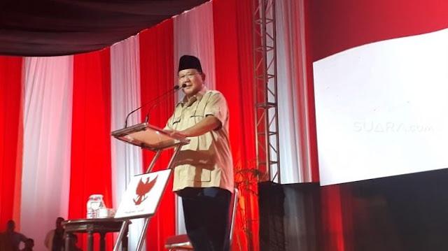Prabowo Akan Kurangi Anggaran untuk Jalan-jalan Jika Jadi Presiden