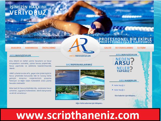 PHP Havuzcu Scripti İndir