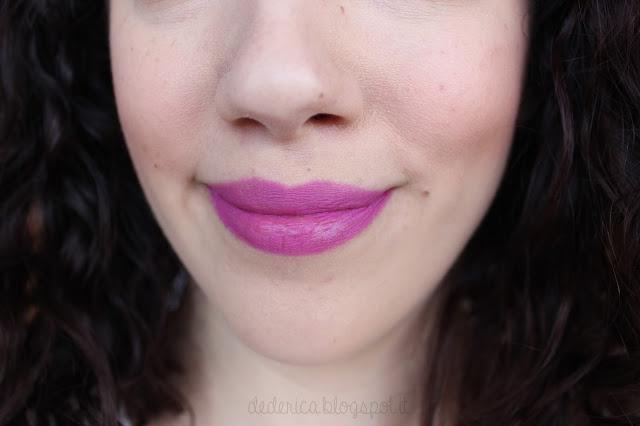 Nabla Diva Crime Lipstick - Vertigo Swatches