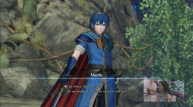 Lord Marth Fire Emblem Warriors introduction Prince Altea cannot afford to fail now