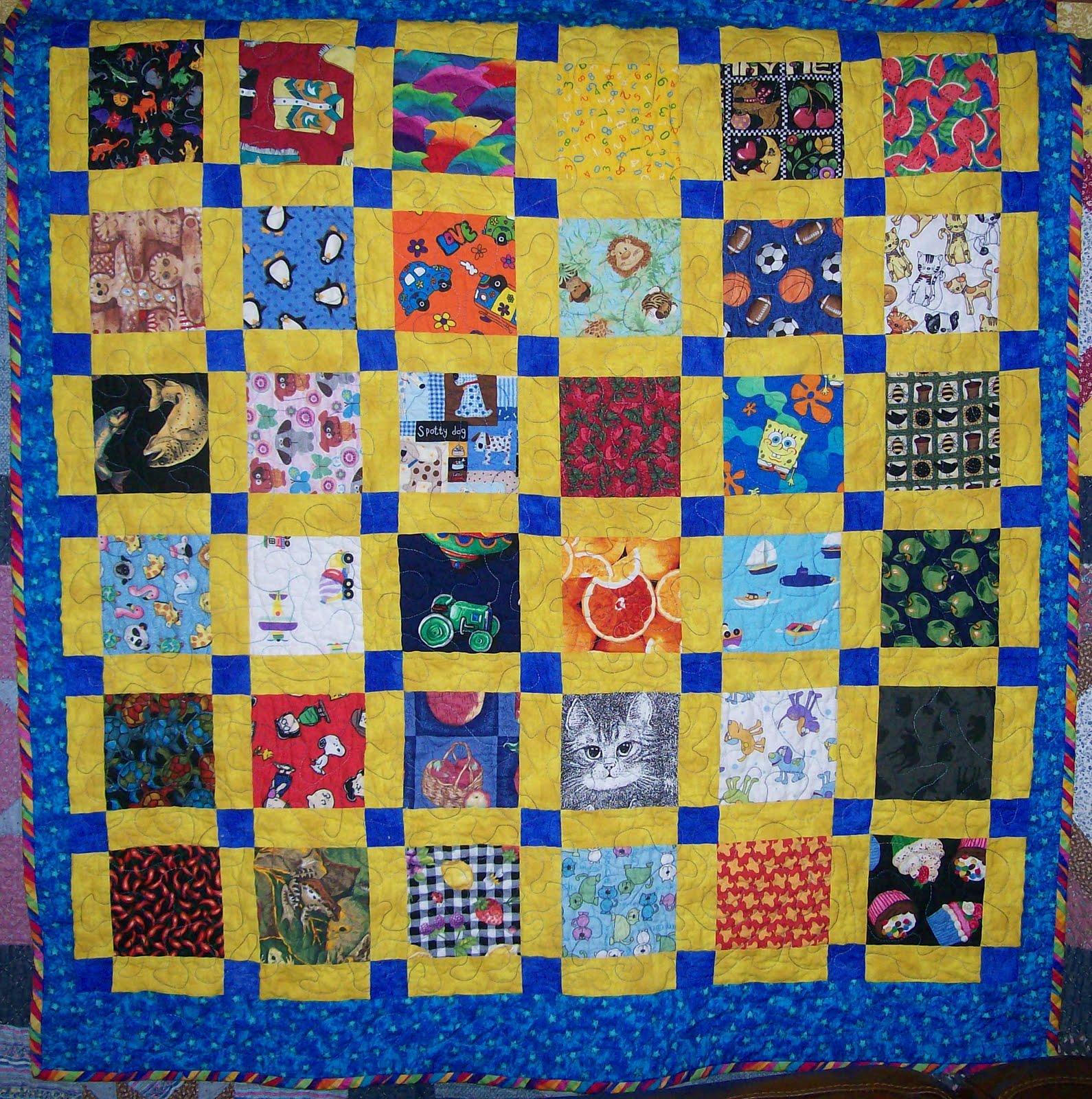 Kids Craft Quilt Making
