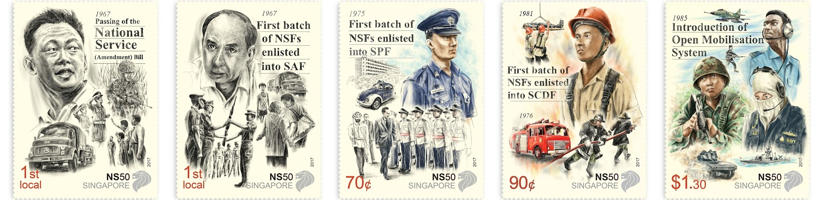 NS50 - Stamp Set (CSC17AST) - $3.50