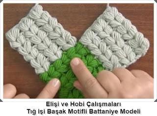 Örgü Başak Modelli Battaniye Yapımı, Resimli Açıklamalı, Videolu2