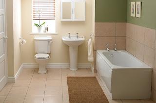 Motif keramik kamar mandi sederhana minimalis