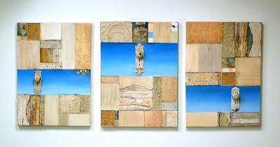 Jess Ada | Halcyon Set of Three | Each 24x32 | $2950