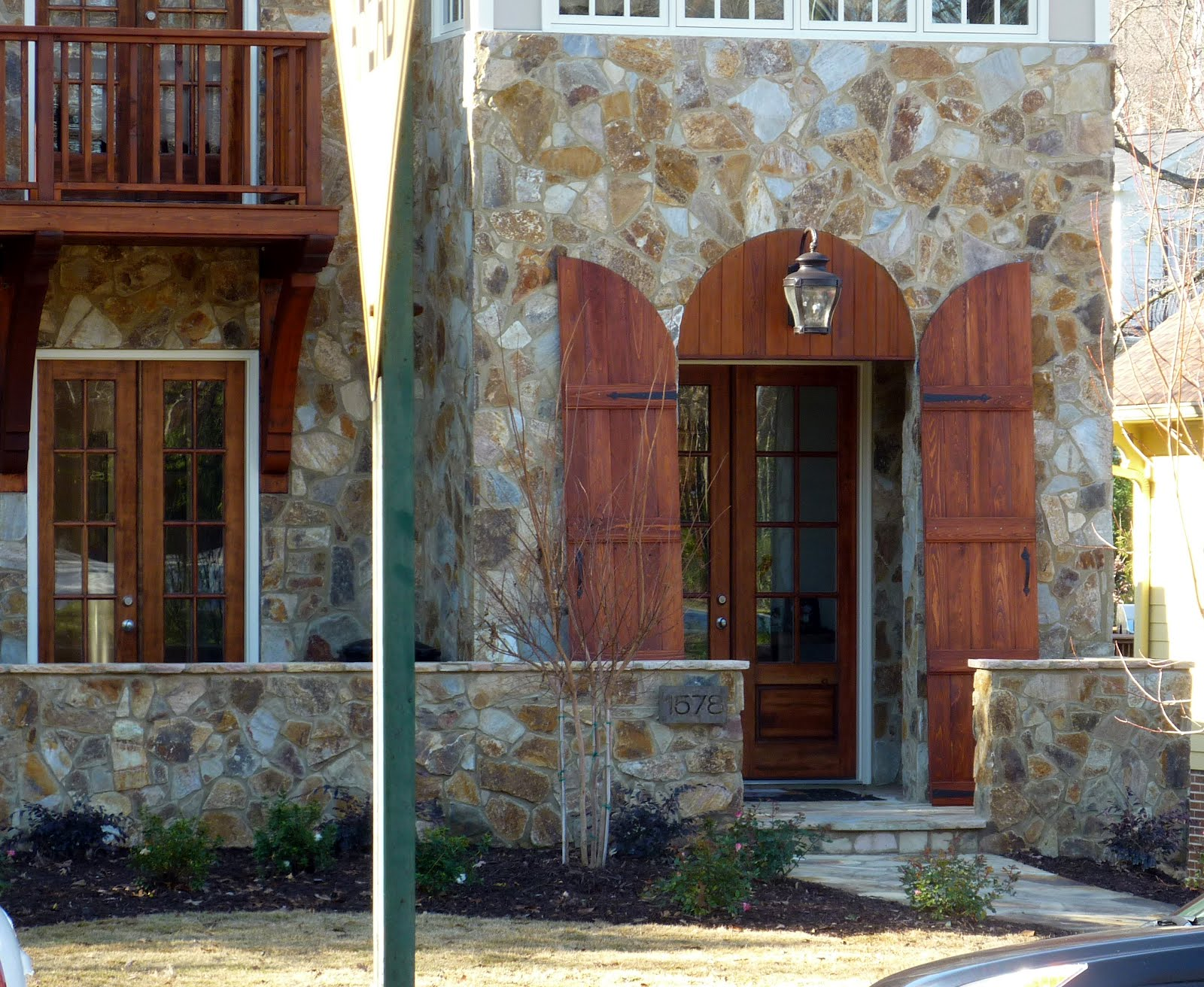 Architecture Tourist Teardown Complete Door Shutters Stone
