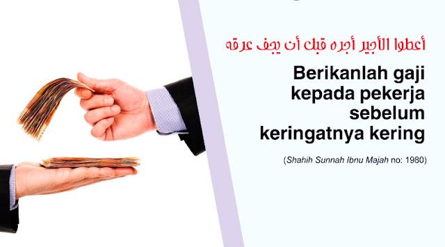 Subhanallah, Begini 6 Akhlak Islam Dalam Memperlakukan Buruh