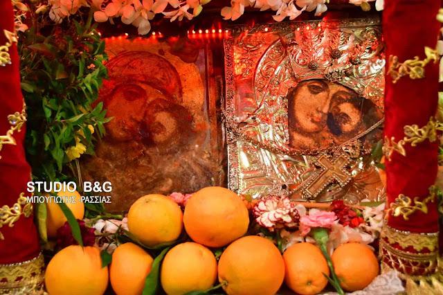 Το Άργος γιορτάζει την Παναγία την Πορτοκαλούσα (βίντεο)