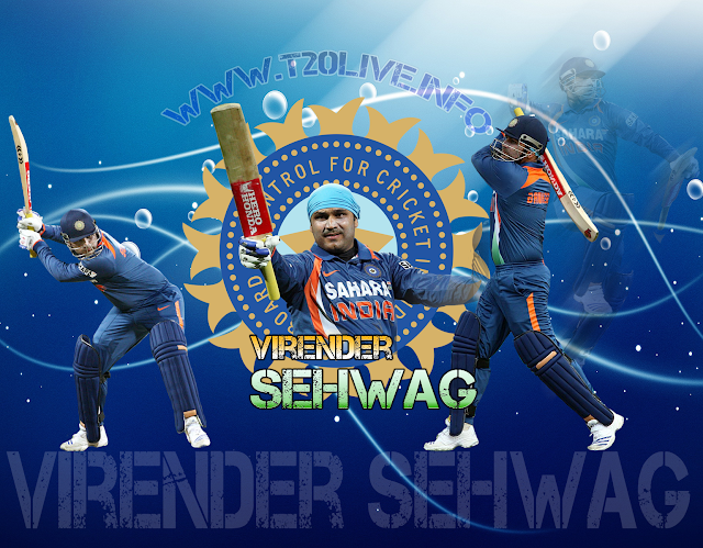 Virender Sehwag 3d Wallpaper M4 Extreme Download Sehwag Boom S 219 Hd Video