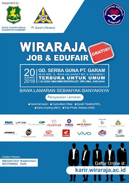 Job Fair Kabupaten Sumenep Terbaru