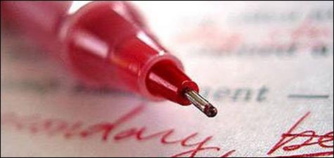 Ternyata,Sekolah Australia Dan Inggris Melarang Menggunakan Tinta Merah -  infosekayu.com