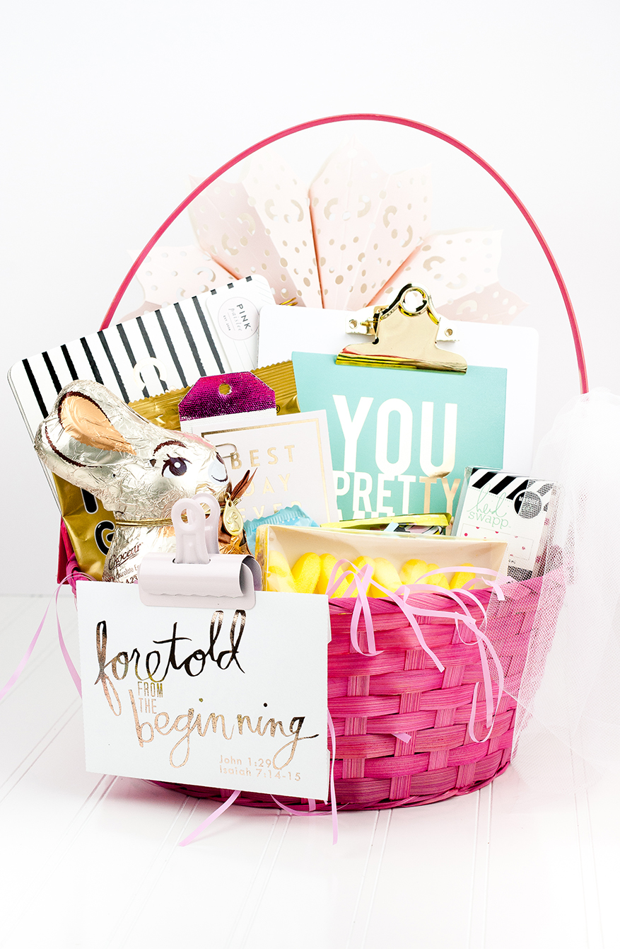 a more grown-up Easter Basket | @MaggieWMassey for @HeidiSwapp