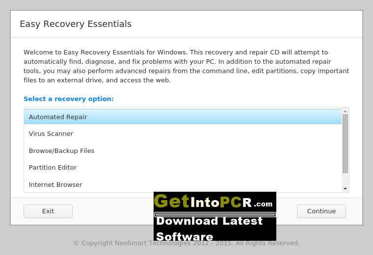 easy recovery essentials for windows 7 64 bit free download