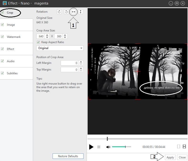 Cara Mudah Memirror Video / Membuat Video Terbalik
