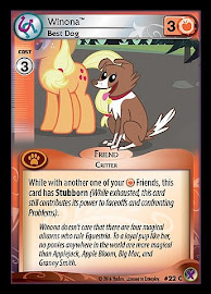 My Little Pony Winona, Best Dog Marks in Time CCG Card