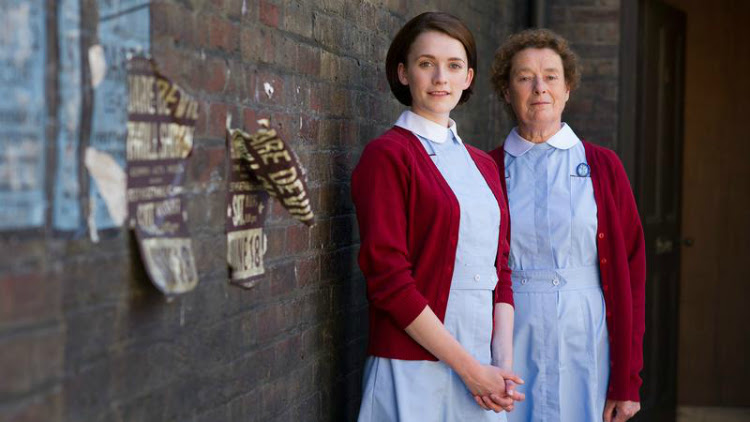 A Vintage Nerd, Vintage Blog, Call the Midwife, Must See TV, Period TV Show, Midwives in the 1960s