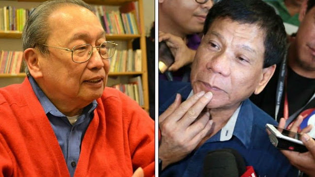 2tPangS Duterte kay Sison: Ayaw mo ba ng kapayapaan bago ka mamatay?
