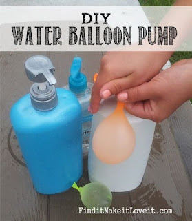 DIY Water Balloon Pump