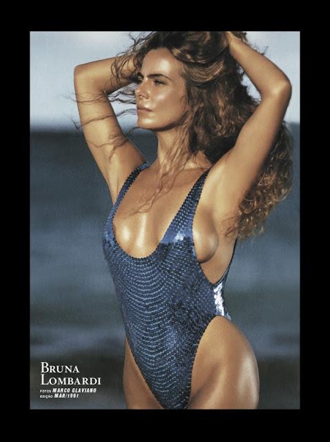 Fotos de Bruna Lombardi nua pelada na Playboy