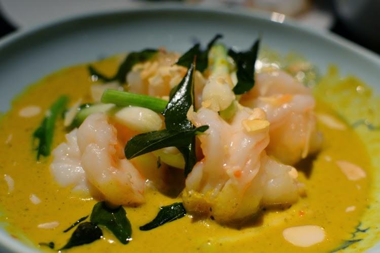 Hakkasan prawn curry