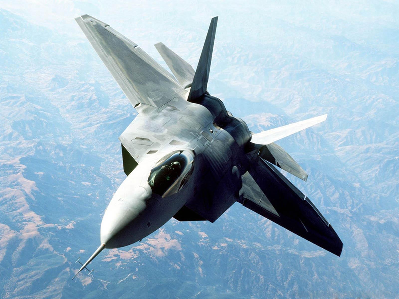 wallpaper: F 22 Raptor Military Jet Fighter Wallpapers