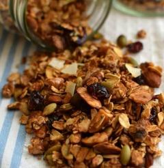 Receta para preparar granola casera