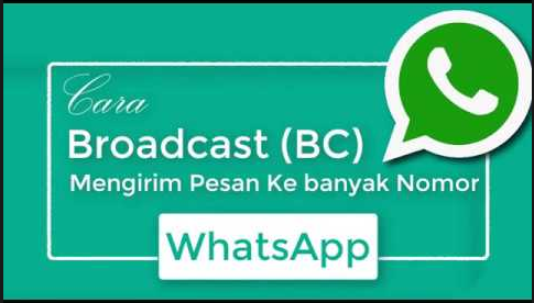 Cara broadcast pesan di WhatsApp dengan cepat