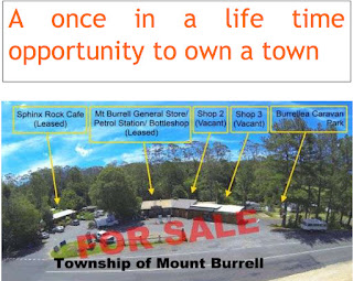 Mt Burrell land-share scam