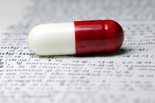 Foto de uma pílula