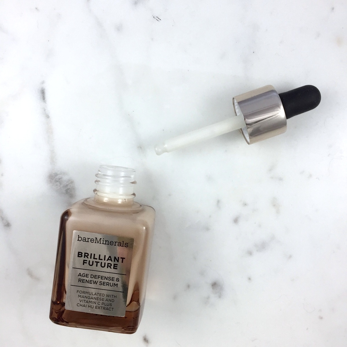 Bare Minerals Brilliant Future Age Defense and Renew Serum: A quick review