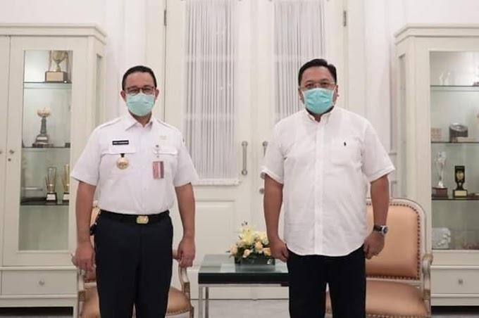 Gerak Cepat, Walikota Depok Sambangi Anis Baswedan