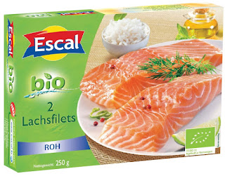 Bio Lachsfilet von Escal
