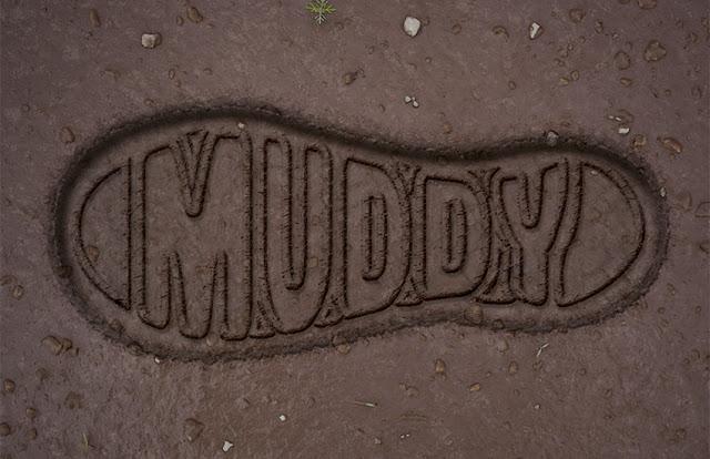 Tutorial, como crear un efecto de texto sobre fango con PS